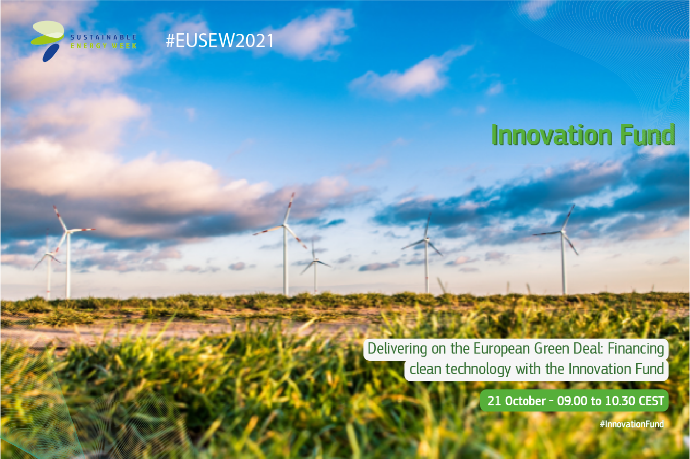 Innovation Fund at EUSEW 2021