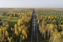 Power transmission line Latvia