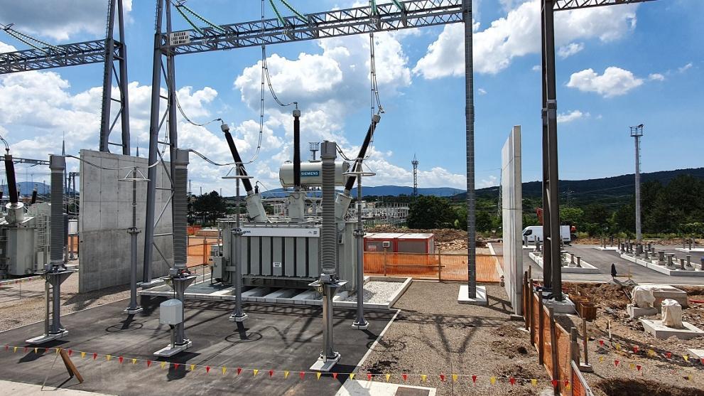 Construction works VSR station