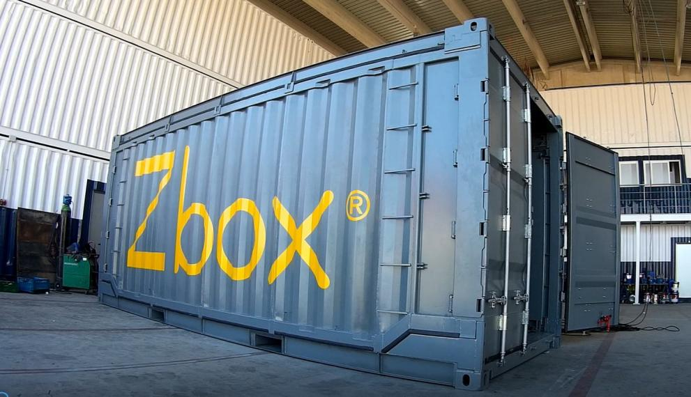 Zbox Blue Logistics project