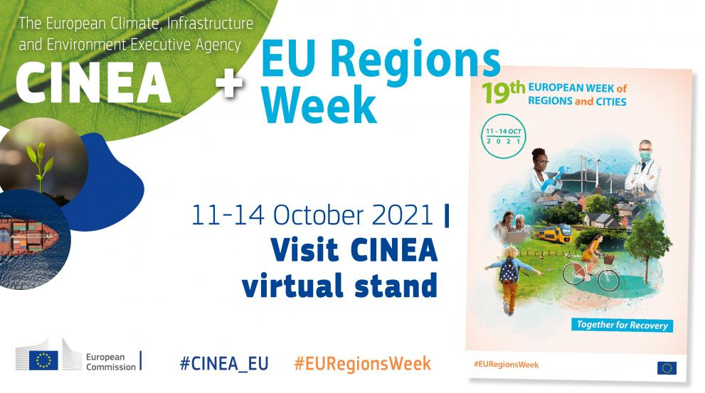 CINEA at #EURegionsWeek