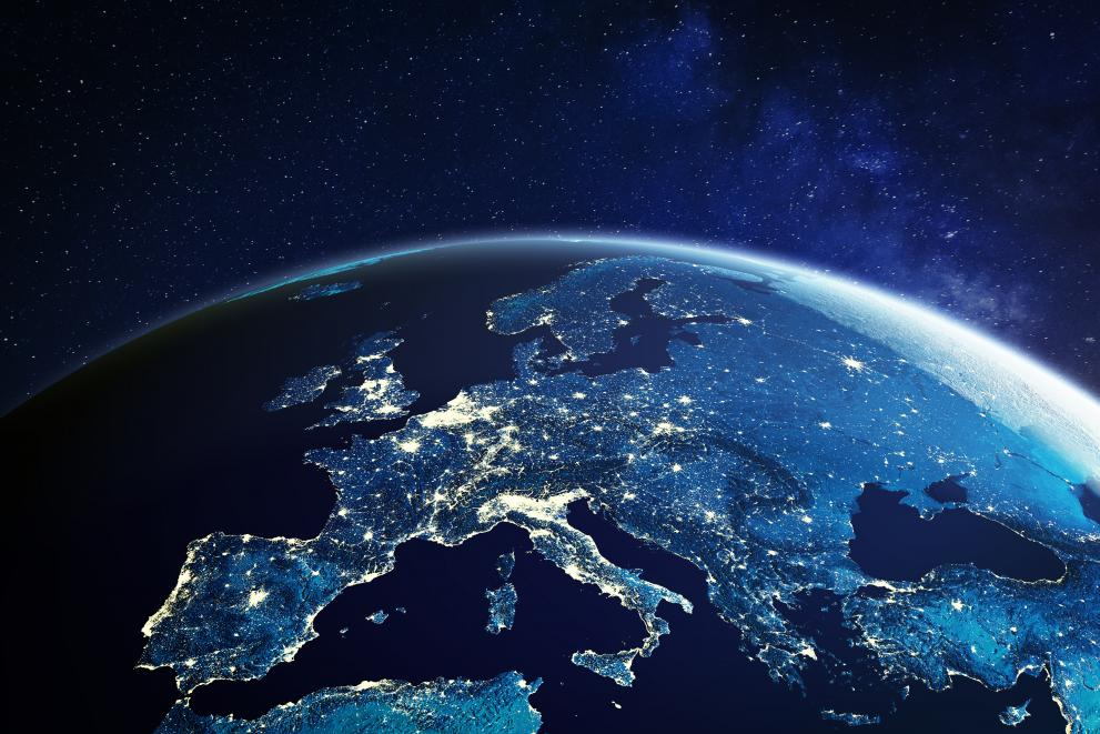 Europe from space.2