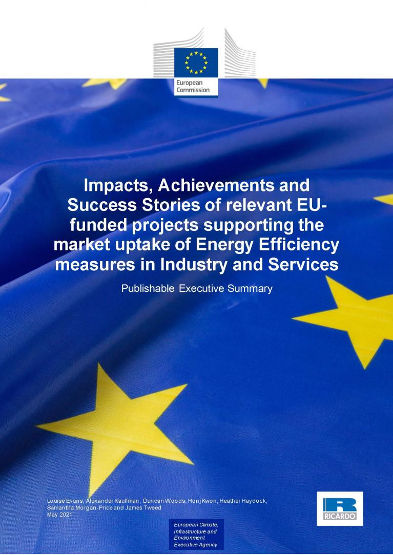 cover - executif summary-Impacts, Achievements and Success Stories
